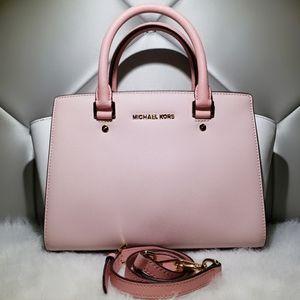 Michael Kors Pink Color-Block Selma.